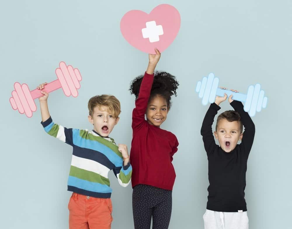 ejercicios niños salud