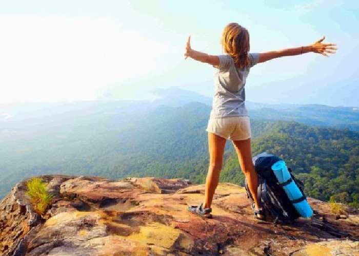 mujer viajar sola